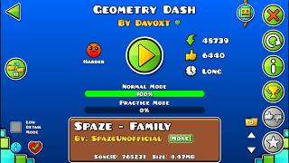 Geometry Dash by Davoxt 100% Completed Geometry Dash 2.11