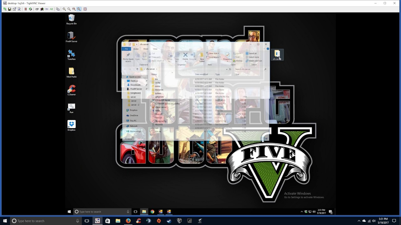 Fivem dedicated server setup