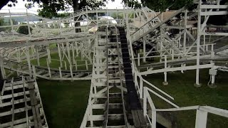 Bobsleds front seat on-ride HD POV Seabreeze
