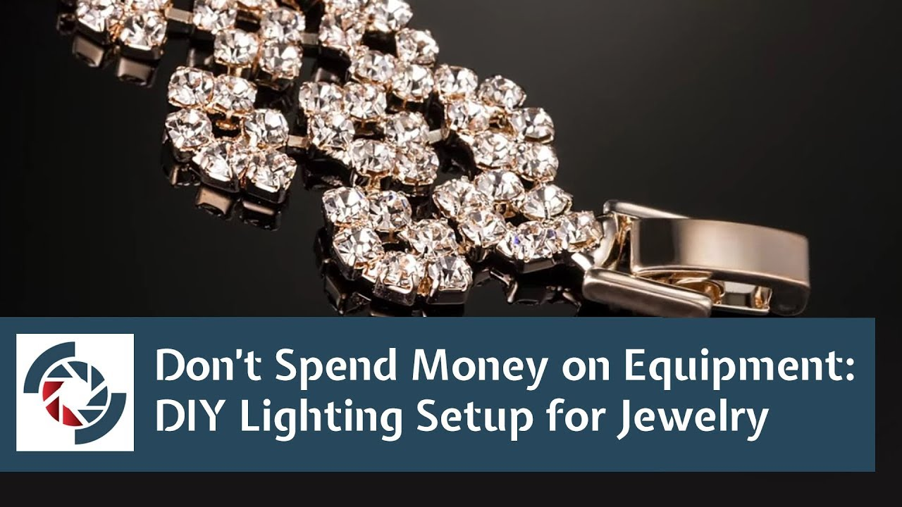 easy lighting. jewelry photography tutorial easy lighting setup with diy led youtube r