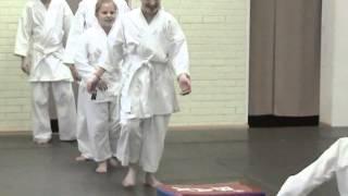 Айкидо тренировка детей январь 2014(Тренировка детей по айкидо. Алтайский центр айкидо
