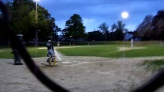 1st Ever Home Run On A Babe Ruth Field At 13 Years Old