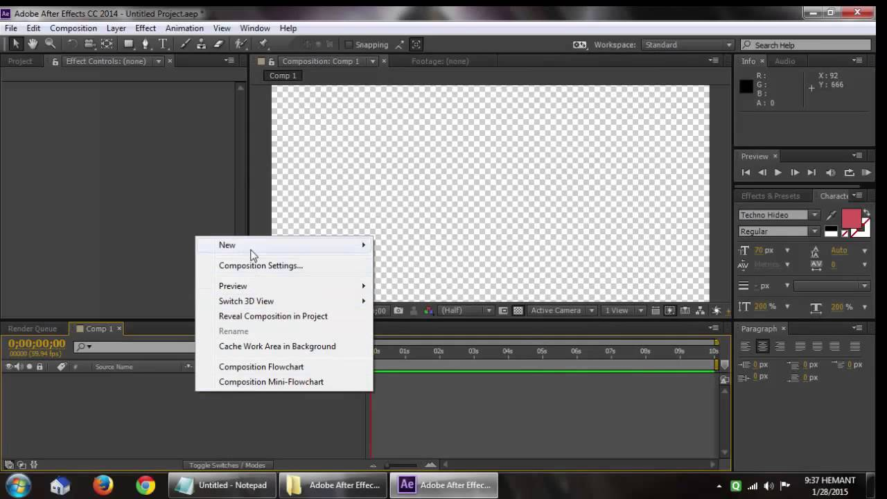 How To install H 264 Codec And Other Missing codecs in Adobe After Effect  For Free