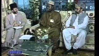 Interviews with Guests at Jalsa Salana Germany 2001