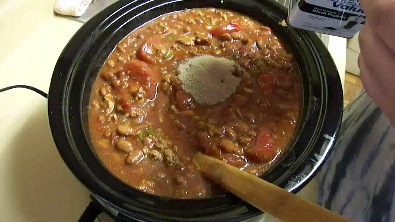 Homemade Chili - YouTube