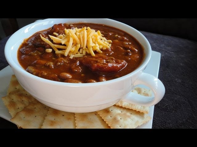 Recipes > Main Dish > How To make Mike,S Three Meat Texas Red Chili Southern