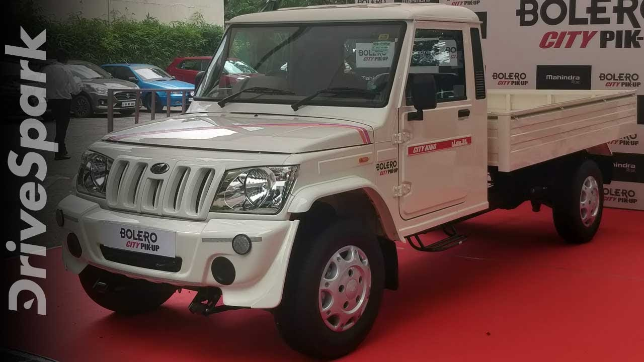 Mahindra Bolero City Pik-Up Launched In India | Price, Features, Specifications & Details