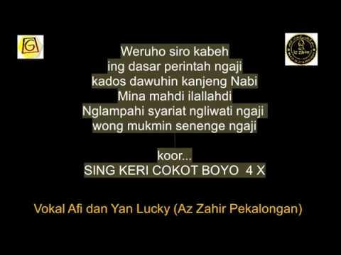 Az Zahir [ Sing Keri Cokot Boyo By. Suma Budhaya ]