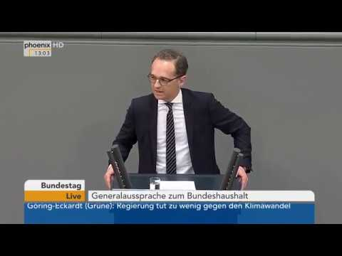 Bundestagsdebatte zum Etat