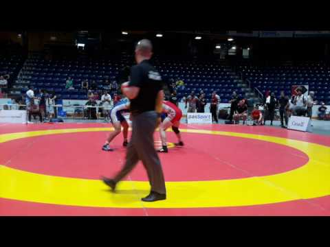 2016 Canada Cup: 65 kg Joseph Dashou (CAN) vs. Xander Chaves (CAN)