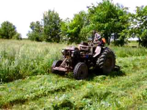 мини-трактор из мотоблока Форте-121. | Doovi