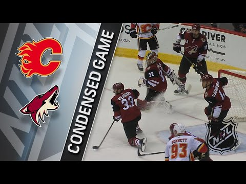 03/19/18 Condensed Game: Flames @ Coyotes