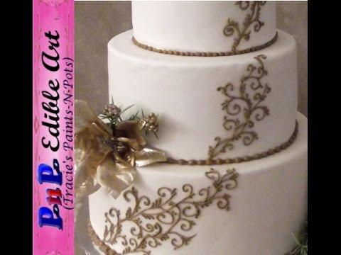 Youtube Royal Icing Wedding Cake