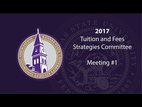Tuition & Fees Strategies Committee #1