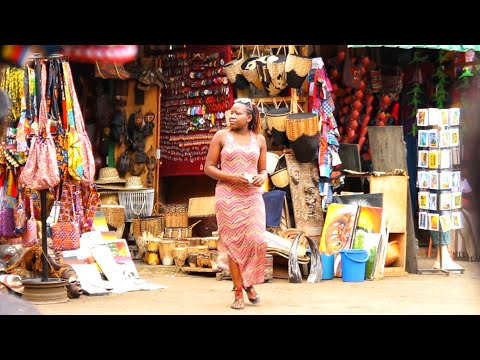 The BIGGEST African crafts Market in Kampala, Uganda