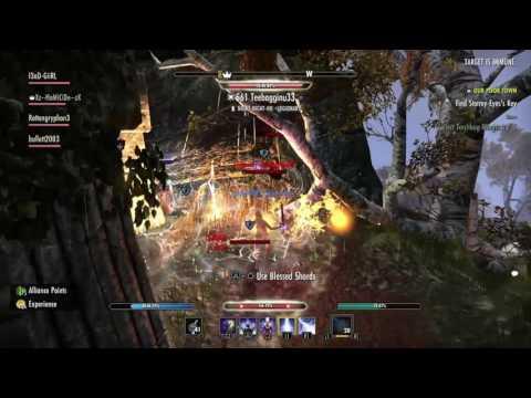 ESO: Dual Wield Magicka Sorcerer PvP Destruction