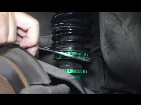 FAQ: How do I adjust the preload on my coilovers?
