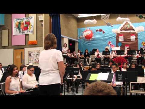 band concert @ Craycroft Elementary School