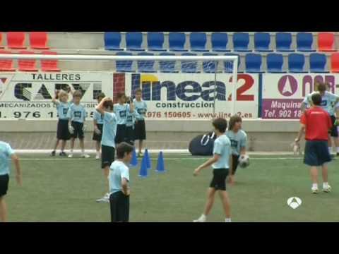 Campus Futbol Zaragoza - Mundial 2010 (Emisión  A3N 12/07/10)