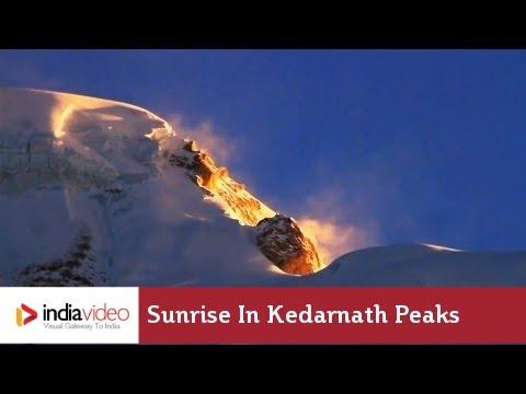 Sunrise in Kedarnath peaks | IndiaVideo