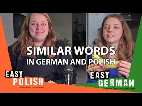 Super Easy Polish 10 / Super Easy German 18 - Similar words!