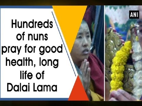 Hundreds of nuns pray for good health, long life of Dalai Lama - Himachal Pradesh News