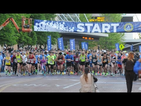 Michigan's Best team broadcasts Fifth Third River Bank Run 5K while running it