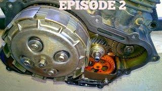 Dismantling the Yamaha fz2 Engine (untouched Engine) Episode 2