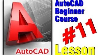 Autocad Classes Creating, Editing, And Inserting Block (lesson 11)