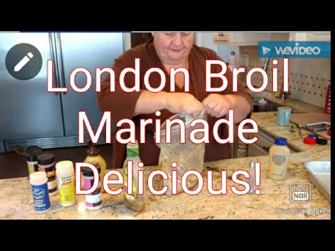 MaryAnn In The Kitchen-Home Made Marinade For London Broil (E4)