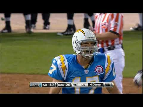 Philip Rivers - Game winning drives - Part 1