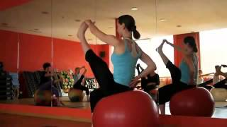Yoga with the ball