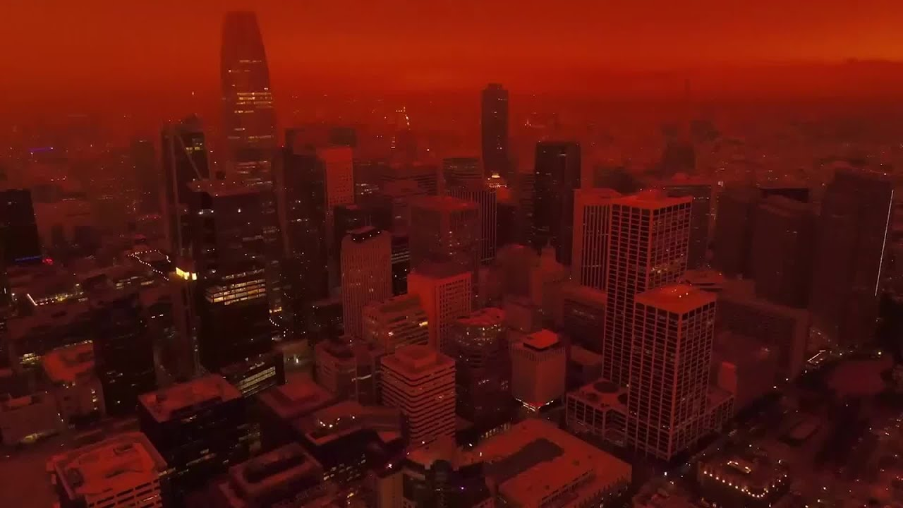 Red Sky of San Francisco