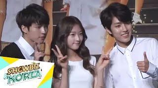 Video Showbiz Korea - PRESS CONFERENCE OF HI! SCHOOL - LOVE ON(하이스쿨 제작발표회) download MP3, 3GP, MP4, WEBM, AVI, FLV April 2018