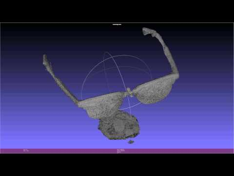 Visual hull dense point cloud