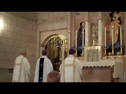 Holy Angels Parish choir sings at Carmelite Monastery July 10