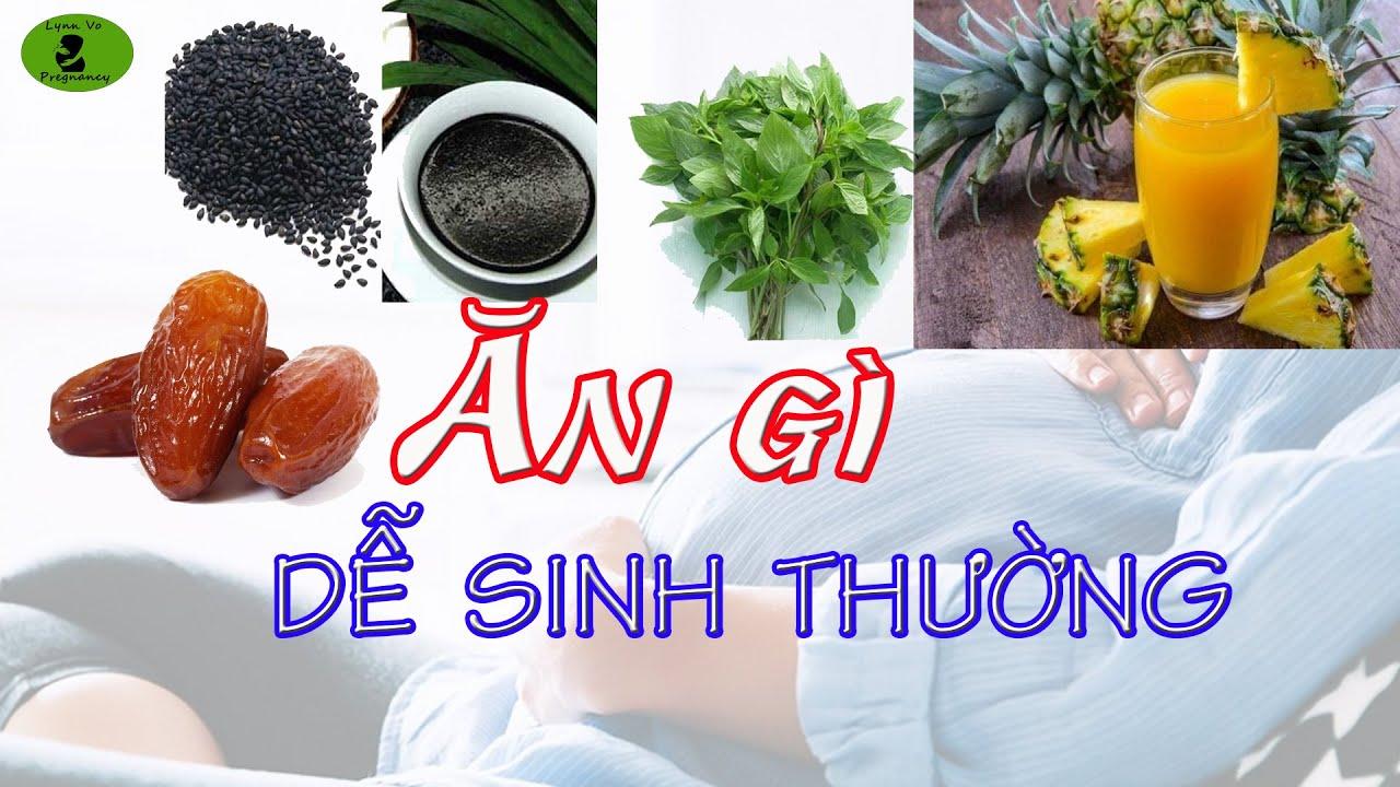 Bà Bầu Ăn Gì Cho Mau Sanh? |Lynn Vo Pregnancy