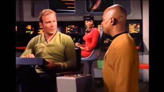 Star Trek DS9 Sisko Meets Kirk