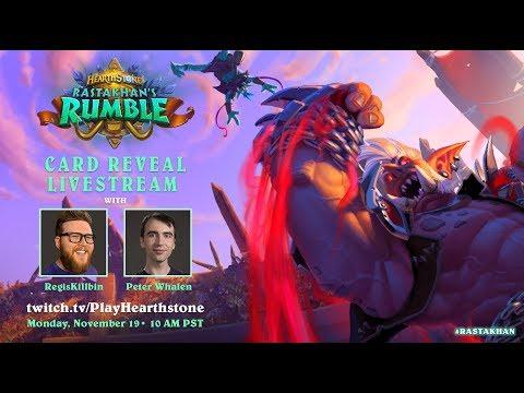 Rastakhan's Rumble   Card Reveal Livestream