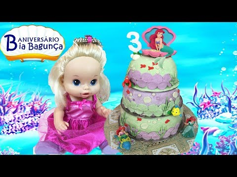 Festa de Aniversário da BABY ALIVE BIA BAGUNÇA | DisneySurpresa