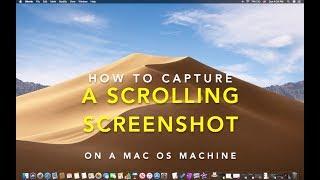 [Free] - How To Take A Scrolling Screenshot on Mac OS X