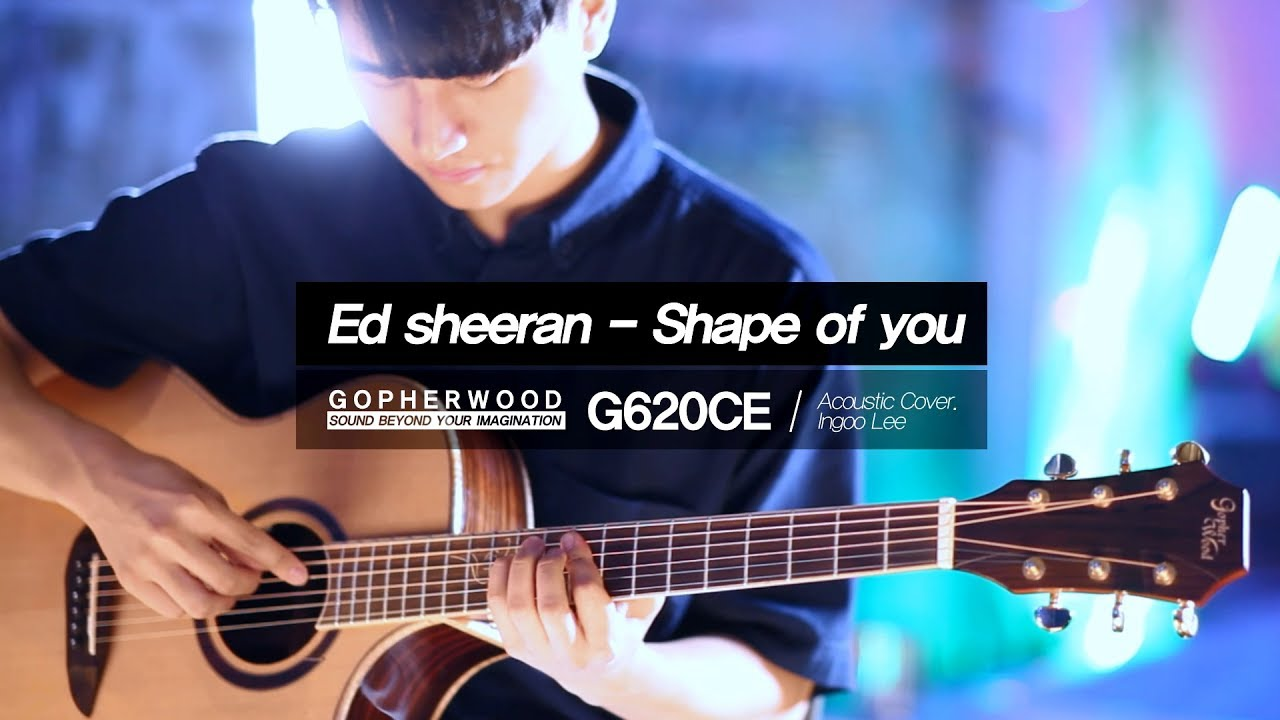 shape of you fingerstyle pdf