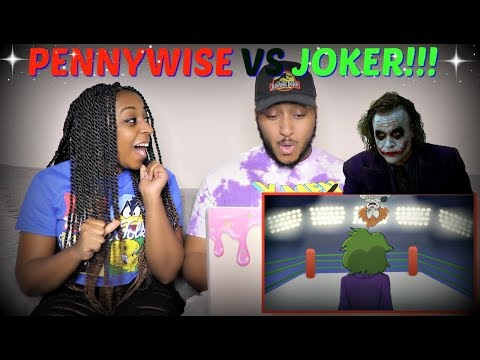Verbalase Pennywise VS The Joker Cartoon Beatbox Battles REACTION!!!