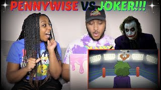 "Verbalase ""Pennywise VS The Joker Cartoon Beatbox Battles"" REACTION!!!"