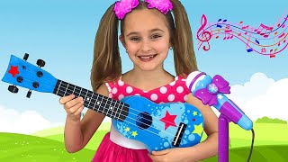 Sasha and a compilation of instructive songs for children