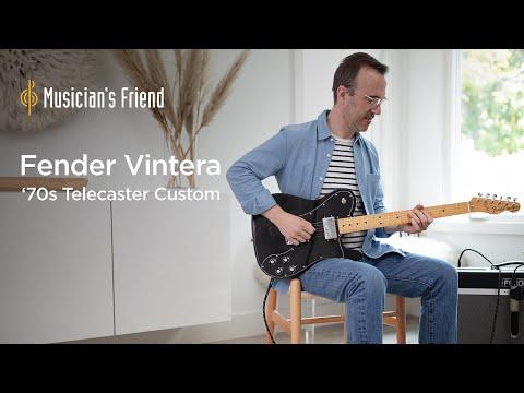 Fender Vintera '70s Telecaster Custom Demo - All Playing, No Talking