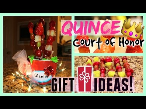 quinceañera court of honor gift idea diy easy affordable youtube