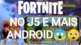 How to download Fortnite Mobile for J5 and XIAOMI and Moto G and Lgk10