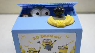 Minion Money Coin Bank - Japan Version Unboxing Review