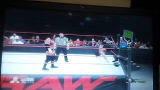 WWW 2K15 PC Kevin Nash get stucked between ropes